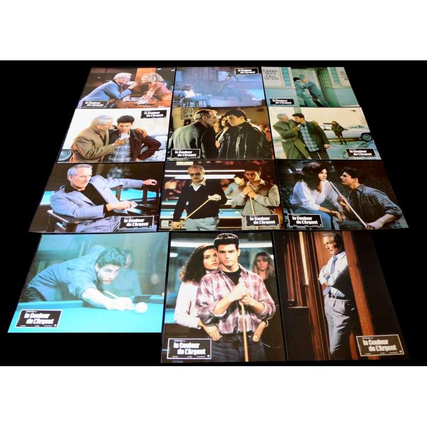 LA COULEUR DE L'ARGENT Photos de film x12 21x30 - 1986 - Paul Newman, Martin Scorcese