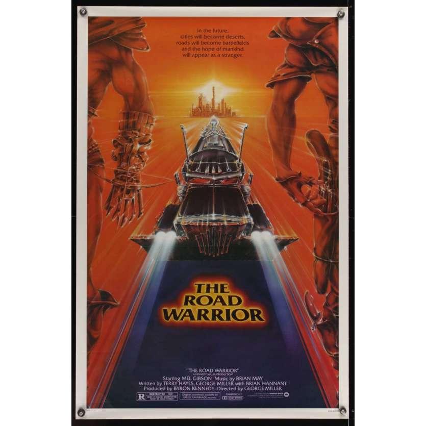 Mauvais-genres.com - MAD MAX 2 Mel Gibson Affiche du film USA 1981