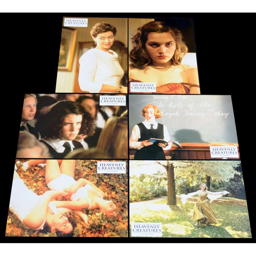 HEAVENLY CREATURES French Lobby Cards Set X6 9x12 - 1994 - Peter Jackson, Kate Winslet