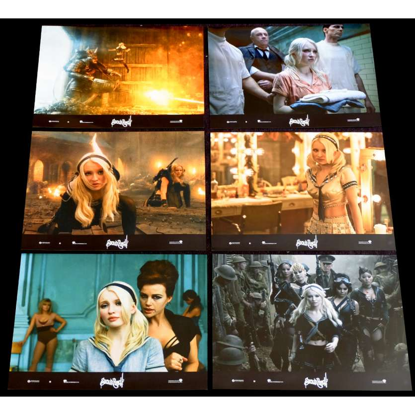 SUCKER PUNCH x6 Photos de film 21x30 - 2011 - Emily Browning, Zack Snyder