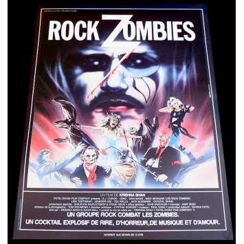 ROCK ZOMBIE Affiche de film 40x60 - 1984 - E.J. Curcio, Krishna Shah
