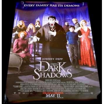 DARK SHADOWS US Movie Poster 29x41 - 2002 - Tim Burton, Johnny Depp