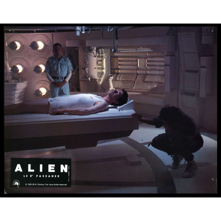 ALIEN French Lobby Card 9 8x10 - 1979 - Ridley Scott, Sigourney Weaver