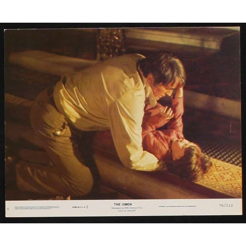 LA MALEDICTION Photo de film 2 20x25 - 1976 - Gregory Peck, Richard Donner