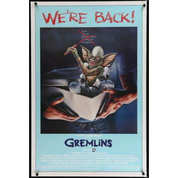 GREMLINS Affiche de film 69x104 - R1985 - Zach Galligan, Joe Dante