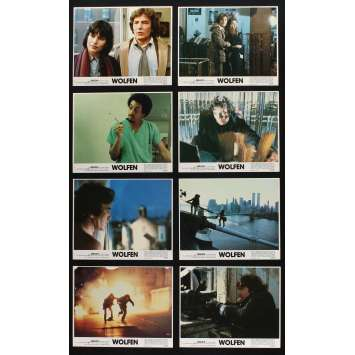 WOLFEN Photos de film x8 20x25 - 1981 - Albert Finney, Michael Wadleigh