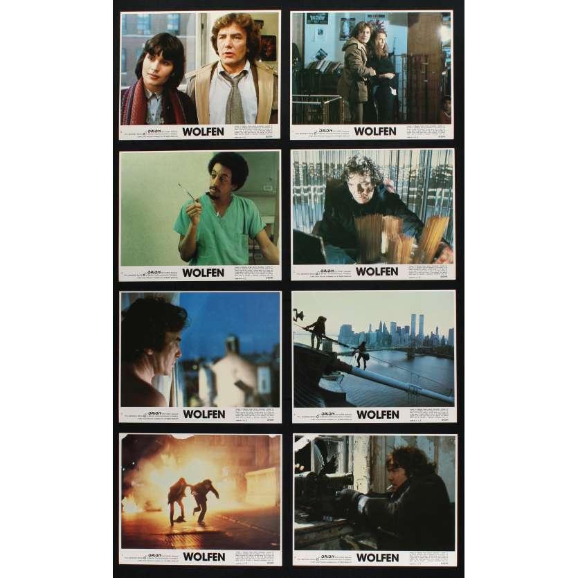 WOLFEN US Lobby Cards x8 8x10 - 1981 - Michael Wadleigh, Albert Finney