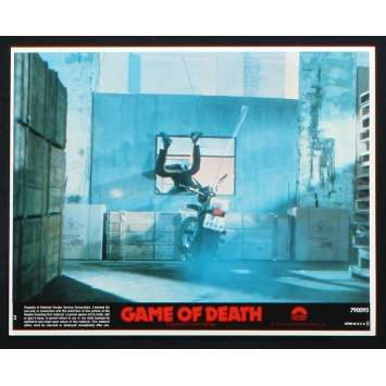 GAME OF DEATH US Lobby Card 2 8x10 - 1978 - Robert Clouse, Bruce Lee