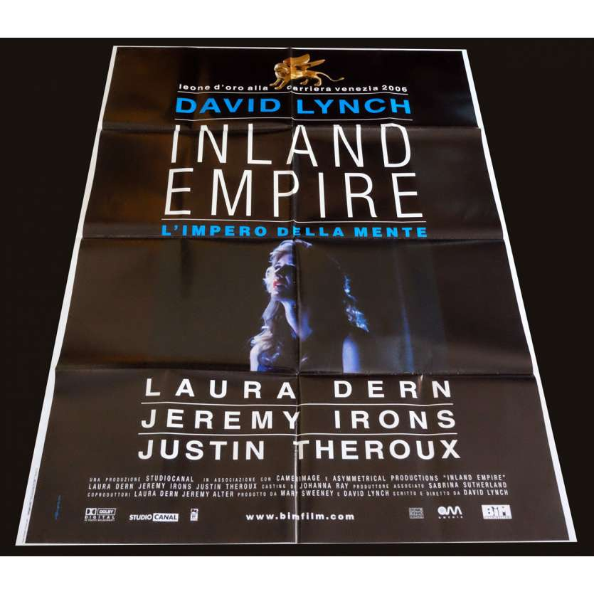 INLAND EMPIRE Affiche de film 100x140 - 2006 - Laura Dern, David Lynch