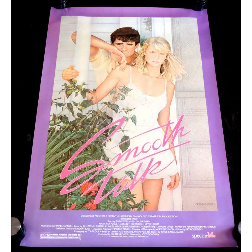 SMOOTH TALK Affiche de film 69x102 - 1985 - Laura Dern, Joyce Chopra