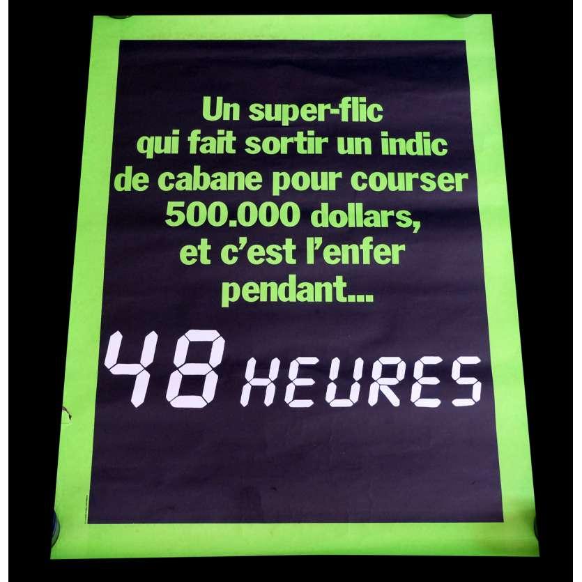 48 HEURES Style B Adv. Affiche de film 60x80 - 1984 - Eddie Murphy, Walter Hill