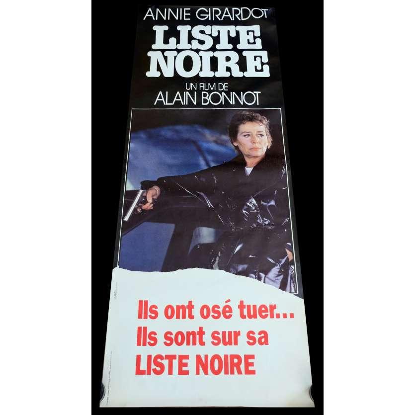 LISTE NOIRE Affiche de film 60x160 - 1984 - Annie Giradot, Alain Bonnot