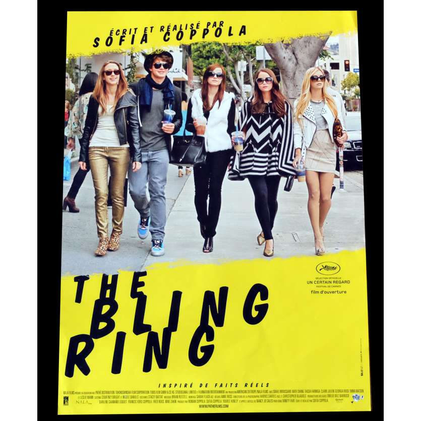 THE BLING RING French Movie Poster 15x21 - 2013 - Sofia Coppola, Emma Watson