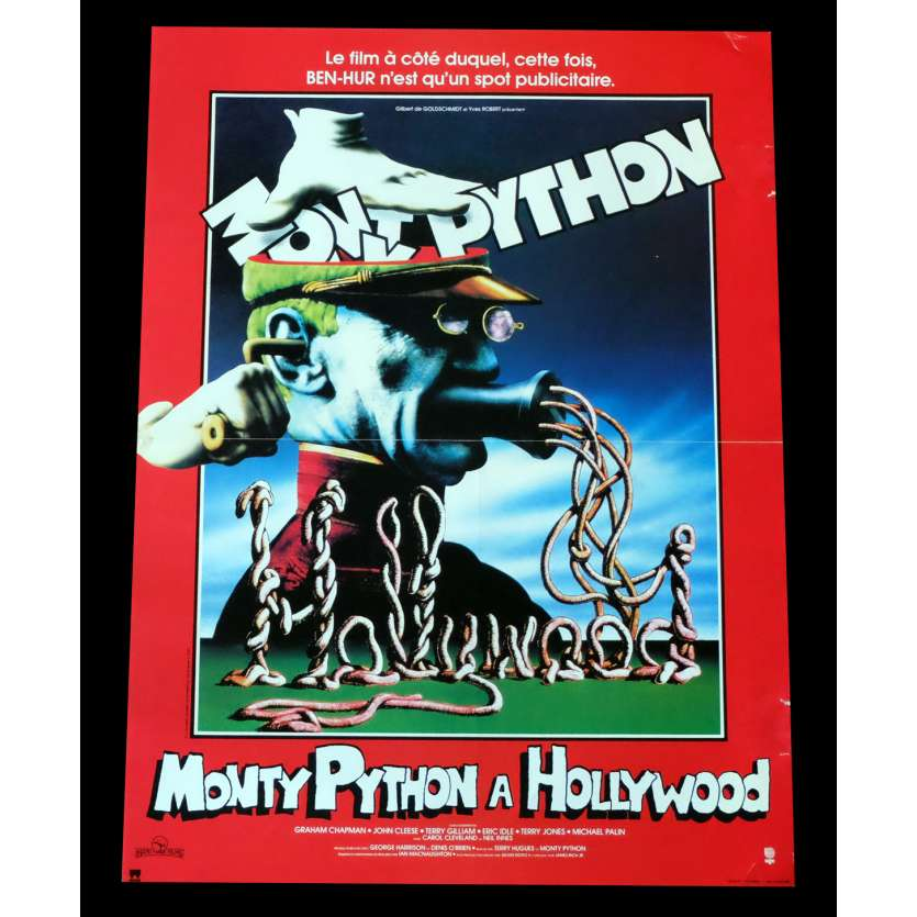 MONTY PYTHON LIVE AT THE HOLLYWOOD BOWL French Movie Poster 15x21 - 1982 - Terry Hughes, John Cleese
