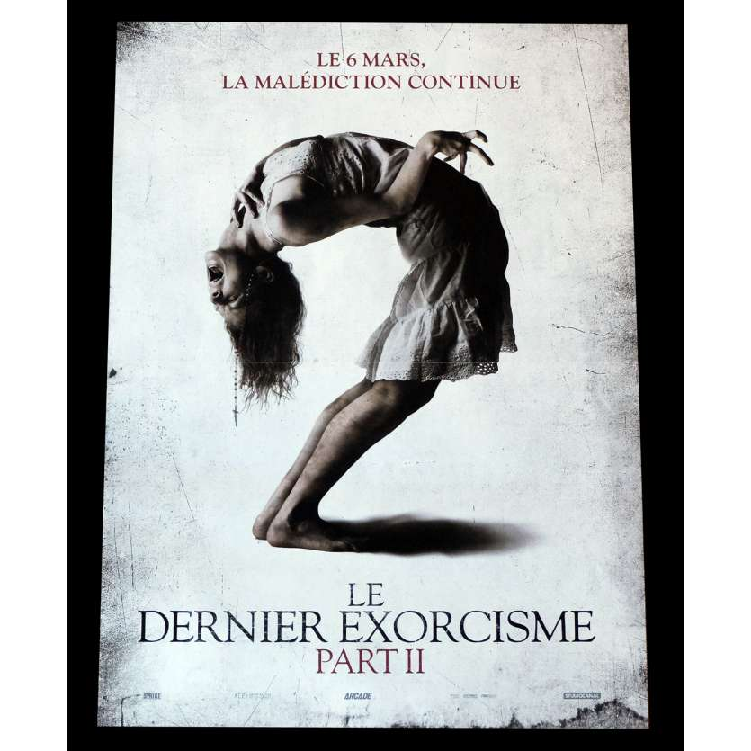 LE DERNIER EXORCISME PART II Affiche de film 40x60 - 2013 - Ashley Bell, Ed Gass