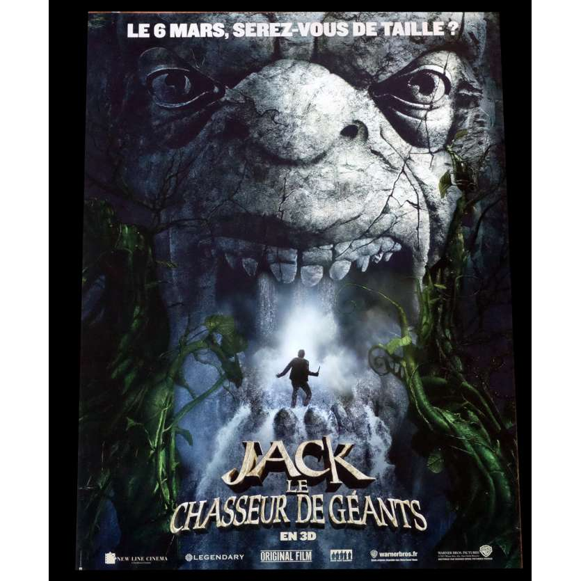JACK THE GIANT SLAYER Style A French Movie Poster 15x21 - 2013 - Bryan Singer, Stanley Tucci