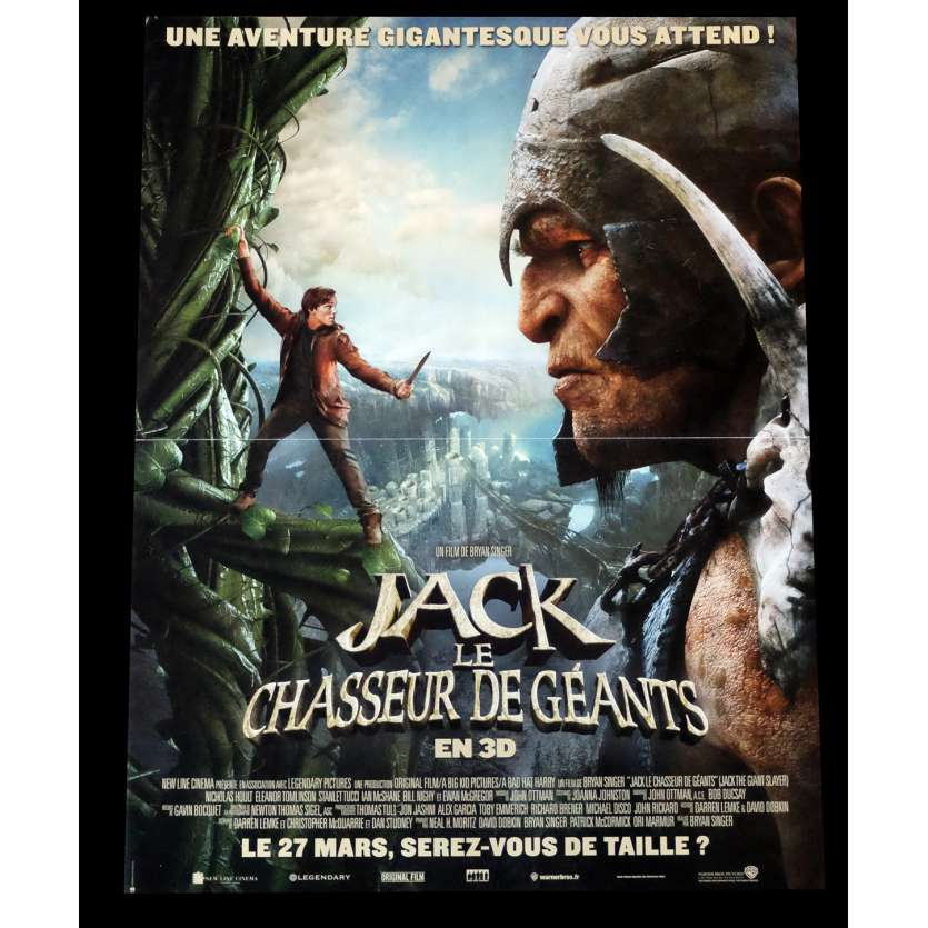 JACK LE CHASSEUR DE GÉANTS Style A Affiche de film 40x60 - 2013 - Stanley Tucci, Bryan Singer