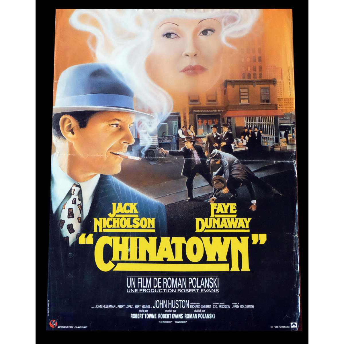 a review of chinatown a movie by roman polanski