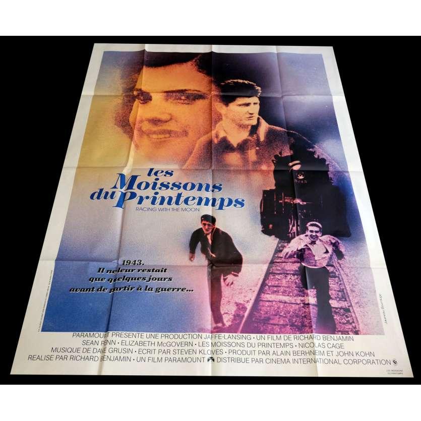 LES MOISSONS DU PRINTEMPS Affiche de film 120x160 - 1984 - Nicolas Cage, Richard benjamin
