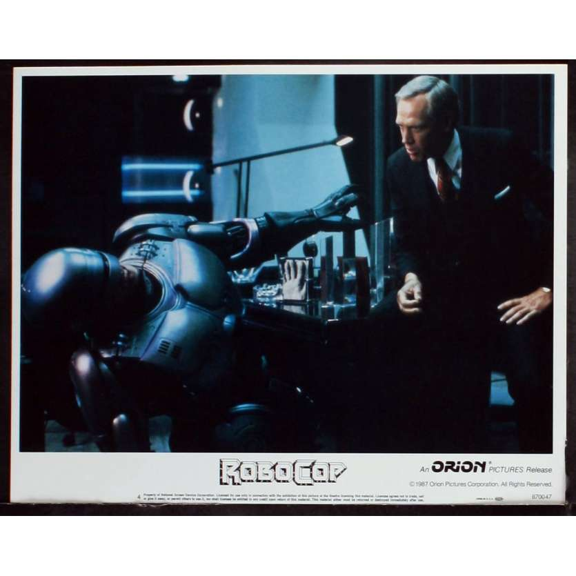 ROBOCOP US Lobby card N1 11x14 - 1987 - Paul Verhoeven, Peter Weller