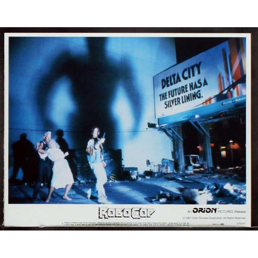 ROBOCOP Photo de film N2 28x36 - 1987 - Peter Weller, Paul Verhoeven
