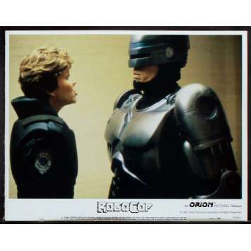 ROBOCOP US Lobby card N5 11x14 - 1987 - Paul Verhoeven, Peter Weller