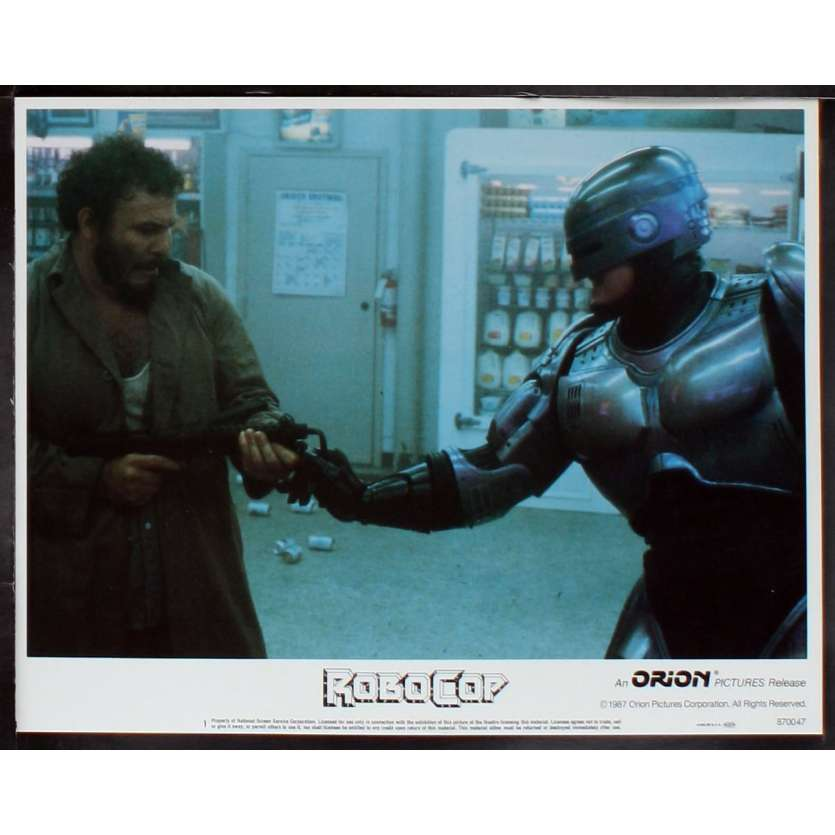 ROBOCOP Photo de film N7 28x36 - 1987 - Peter Weller, Paul Verhoeven
