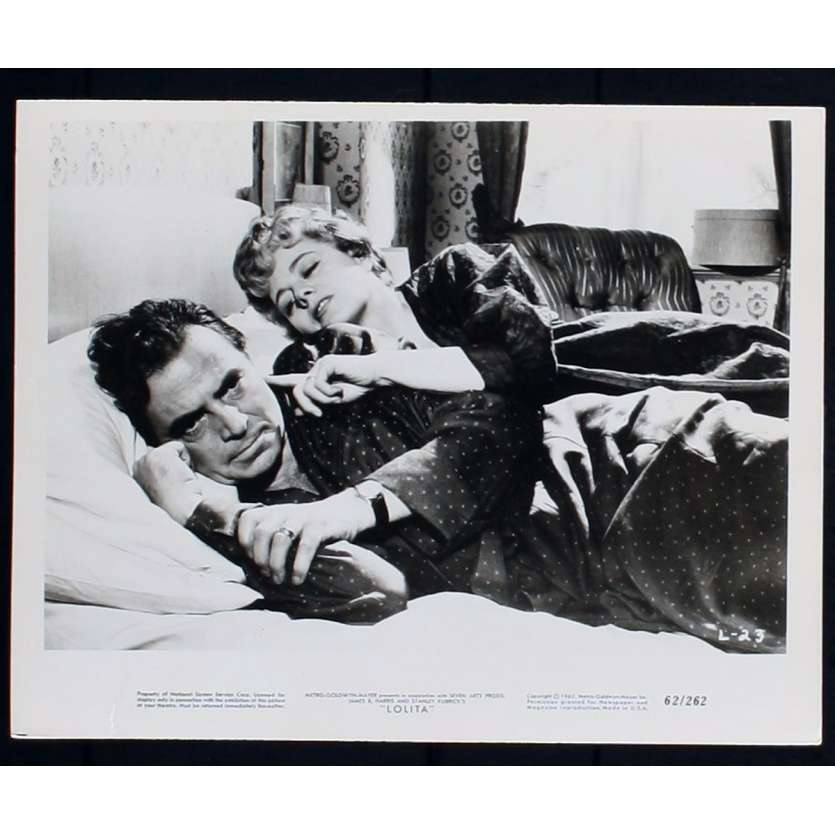 LOLITA Photo de film N5 20x25 - 1962 - James Mason, Stanley Kubrick