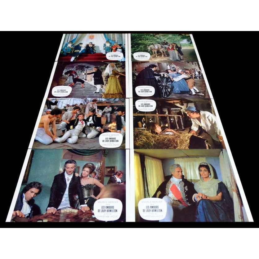 LES AMOURS DE LADY HAMILTON Photos x16 21x30 - 1968 - Michele Mercier, Christian Jacques