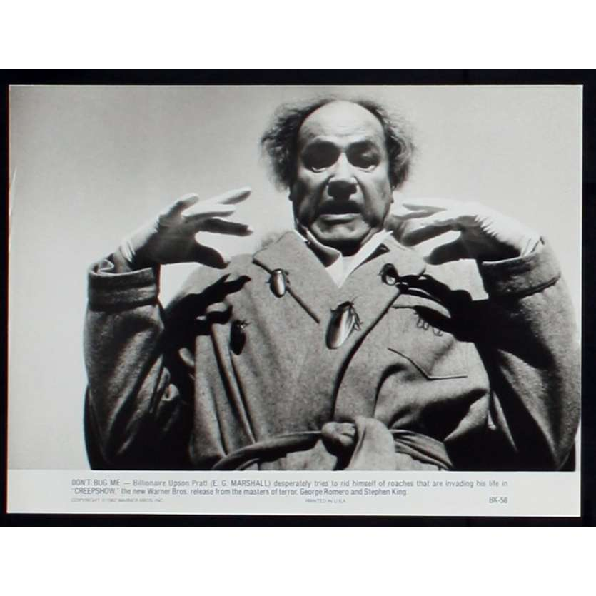 CREEPSHOW Photo de presse 5 20x25 - 1982 - Stephen King, George A. Romero