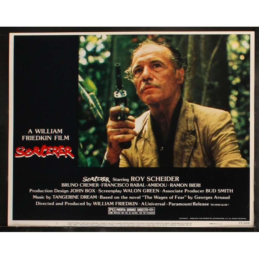 SORCERER US Lobby Card 5 11x14 - 1977 - William Friedkin, Roy Sheider