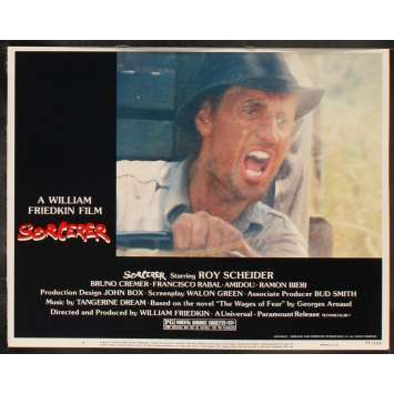 LE CONVOI DE LA PEUR Photo de film 8 28x36 - 1977 - Roy Sheider, William Friedkin