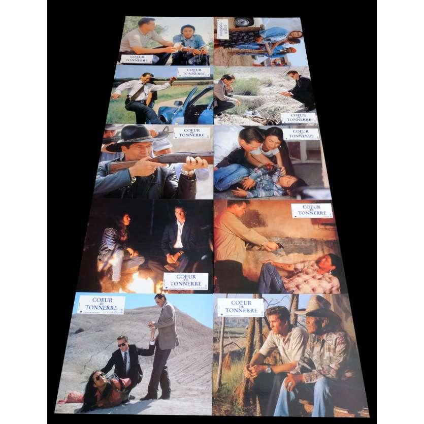 THUNDERHEART French Lobby Cards x10 9x12 - 1992 - Michael Apted, Val Kilmer