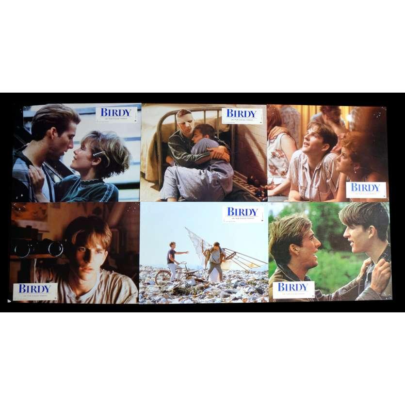 BIRDY French Lobby Cards x6 9x12 - 1983 - Alan Parker, Nicolas Cage
