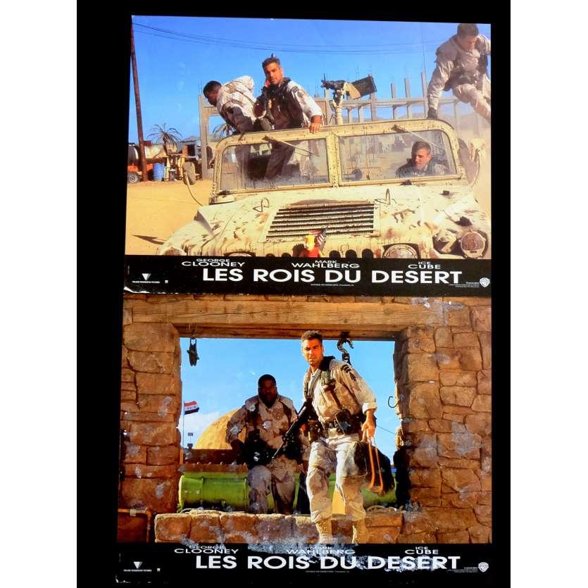 LES ROIS DU DESERT Photos de film x2 21x30 - 1999 - George Clooney, David O. Russell