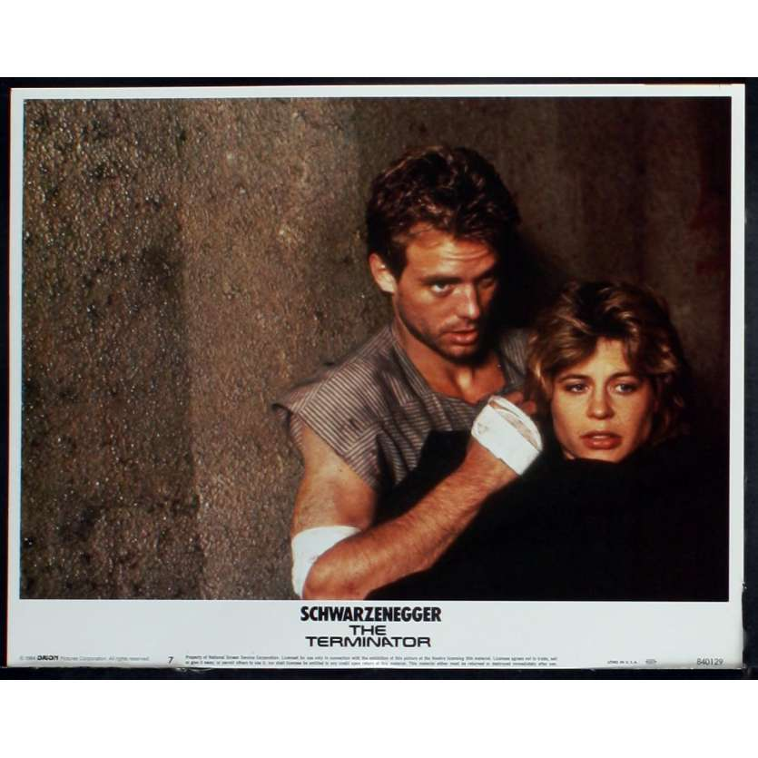 THE TERMINATOR US Lobby Card 5 11x14 - 1984 - James Cameron, Arnold Schwarzenegger
