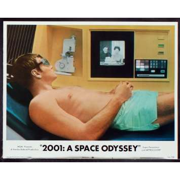 2001: A SPACE ODYSSEY US Lobby Card 2 11x14 - R1972 - Stanley Kubrick, Keir Dullea
