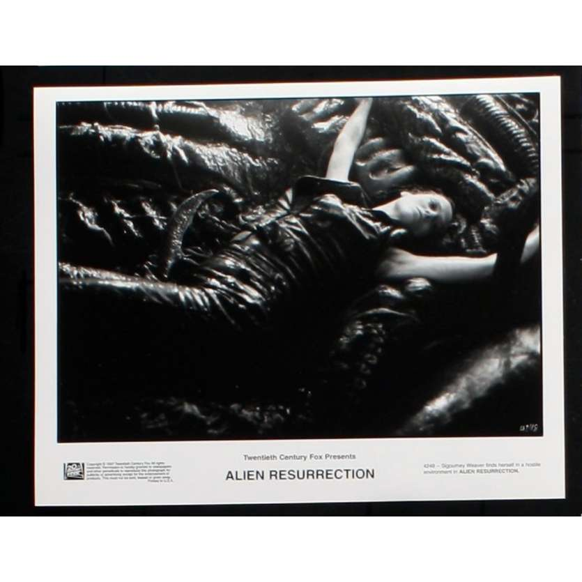 ALIEN RESURRECTION Photo de presse 2 20x25 - 1997 - Sigourney Weaver, Jean-Pierre Jeunet