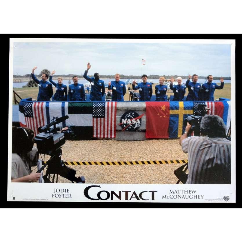 CONTACT Photo de film 1 21x30 - 1997 - Jodie Foster, Robert Zemeckis