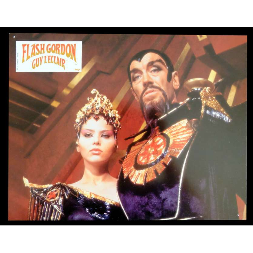 FLASH GORDON French Lobby Card 3 9x12 - 1980 - Mike Hodges, Max Von Sidow