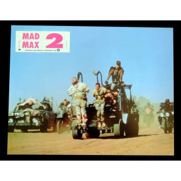 MAD MAX II, THE ROAD WARRIOR French Lobby Card 2 9x12 - 1981 - George Miller, Mel Gibson