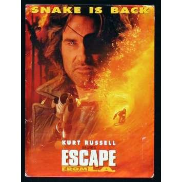 ESCAPE FROM L.A. US Presskit w 4 stills 8x10 - 1996 - John Carpenter, Kurt Russel