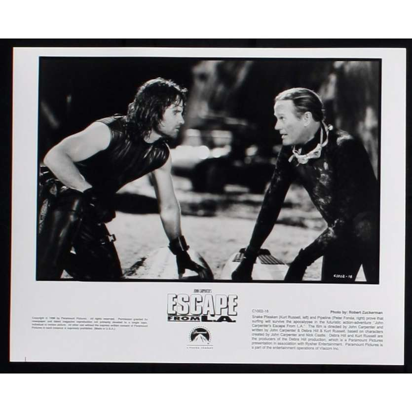 ESCAPE FROM L.A. US Still 4 8x10 - 1996 - John Carpenter, Kurt Russel