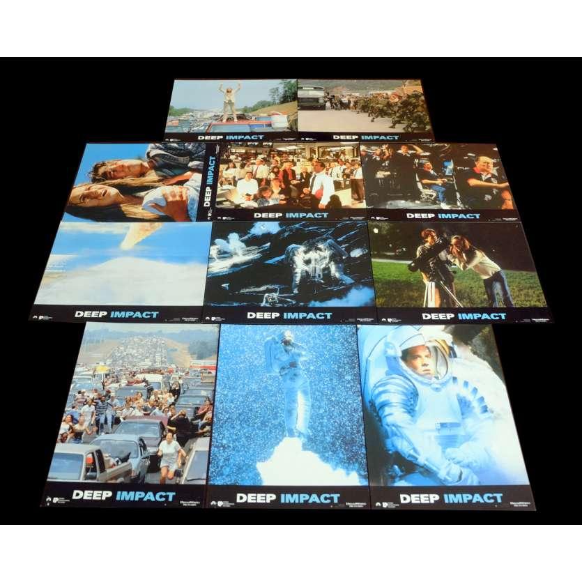 DEEP IMPACT French Lobby Cards x11 9x12 - 1998 - Mimi Leder, Robert Duvall