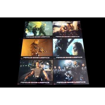 LOST IN SPACE French Lobby Cards x6 9x12 - 1998 - Stephen Hopkins, Gary Oldman