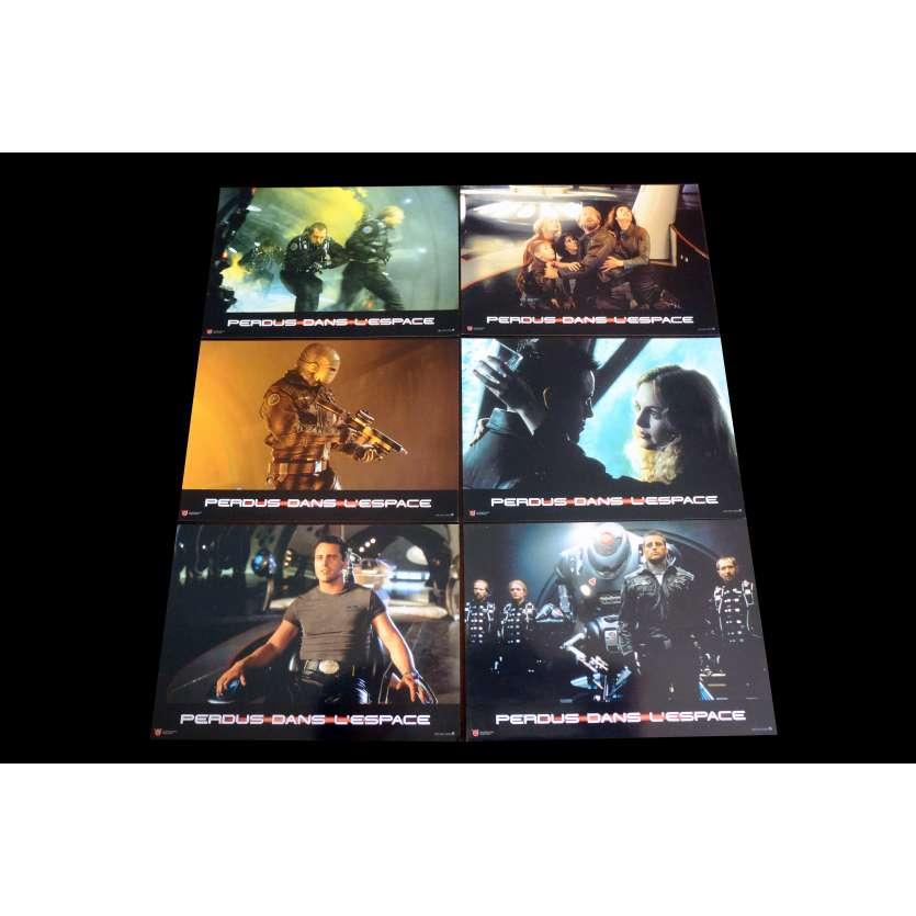 PERDUS DANS L'ESPACE Photos de film x6 21x30 - 1998 - Gary Oldman, Stephen Hopkins