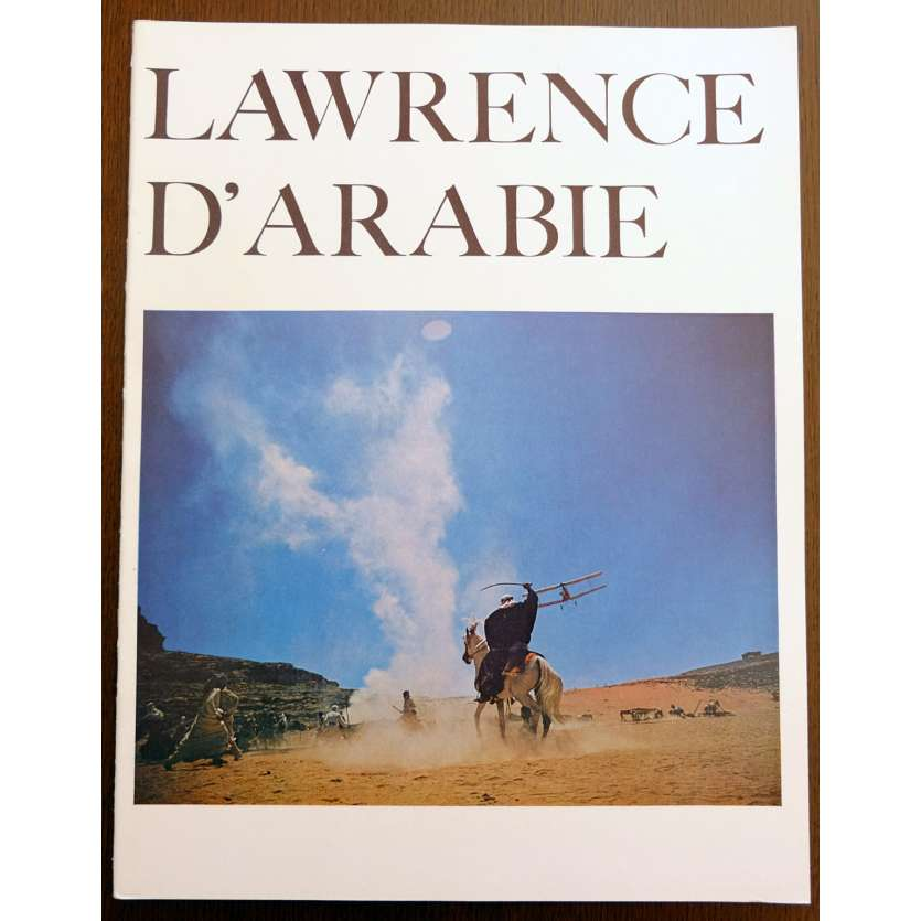LAWRENCE D'ARABIE Original French Souvenir Program '62 Peter O'Toole, Omar Sharif