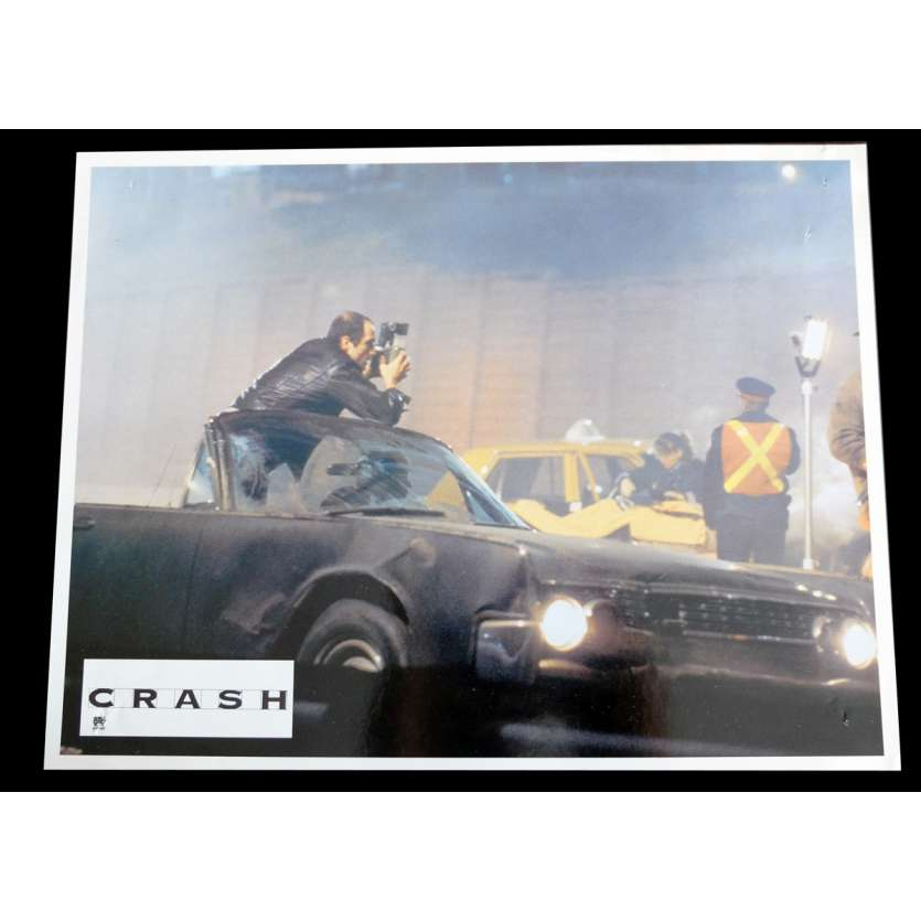 CRASH French Lobby card x1 9x12 - 1996 - David Cronenberg, James Spader