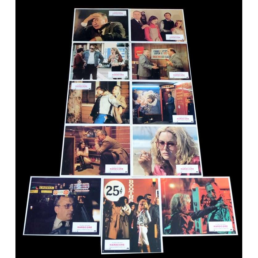 HARDCORE French Lobby cards x11 9x12 - 1979 - Paul Schrader, Jean Allison