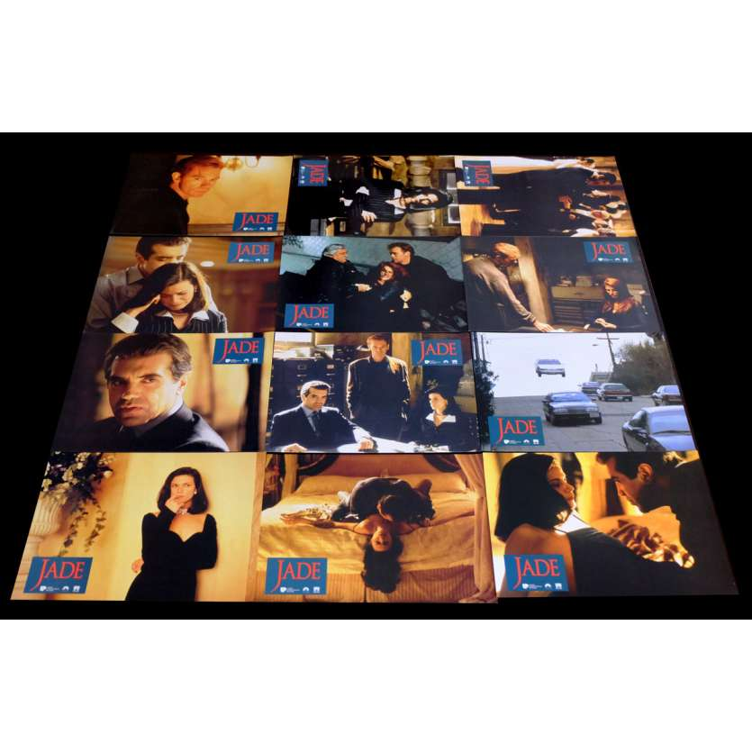 JADE French Lobby cards x12 9x12 - 1995 - William Friedkin, David Caruso